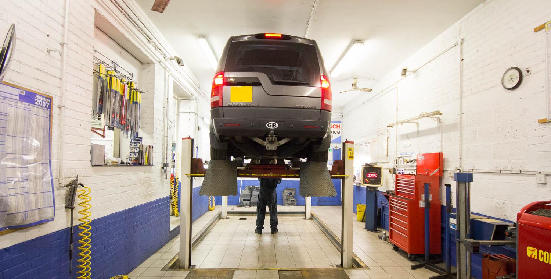 Amersham Car Service at Amersham Garage